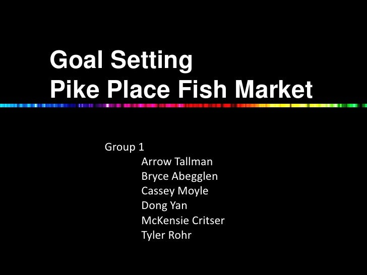 Smart Goal Setting &<br />Pike Place Fish Market<br />