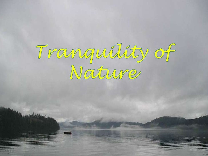 Tranquility of Nature<br />