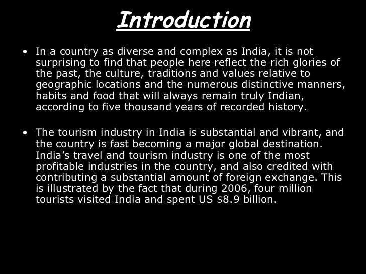 Two sides of tourism industry in india