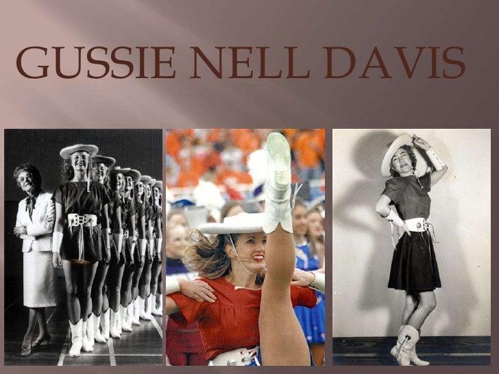 GUSSIE NELL DAVIS<br />