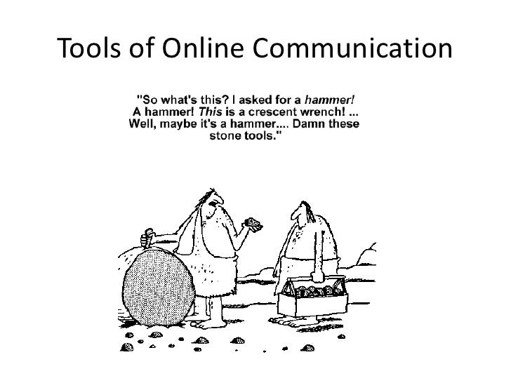 Tools of Online Communication<br />