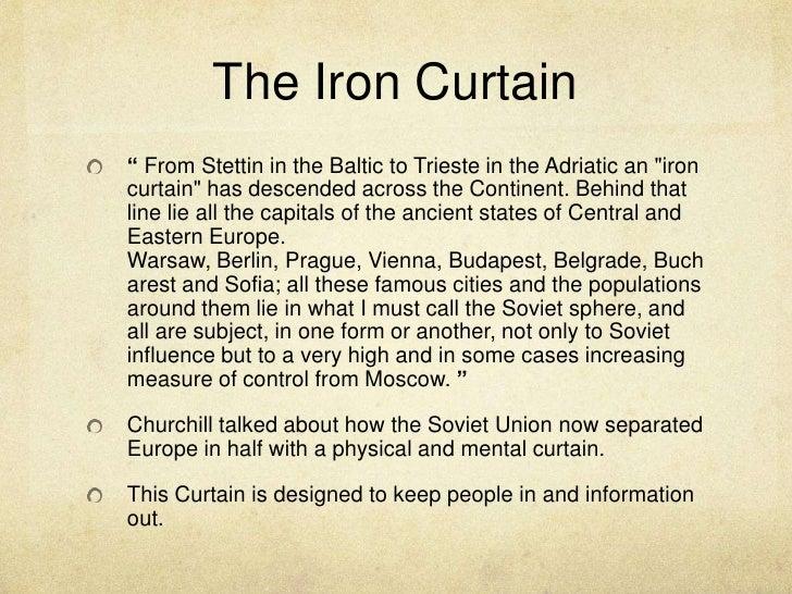 U003cbr /u003e; 9. The Iron Curtain ...