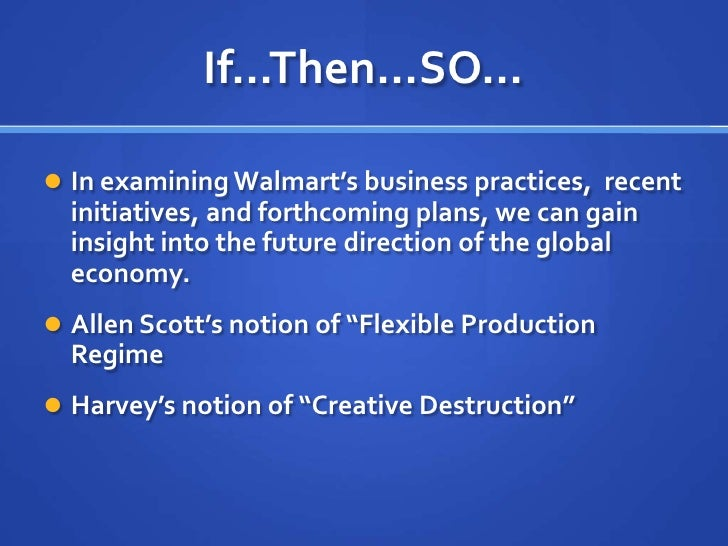 How will the initiative affect costs walmart