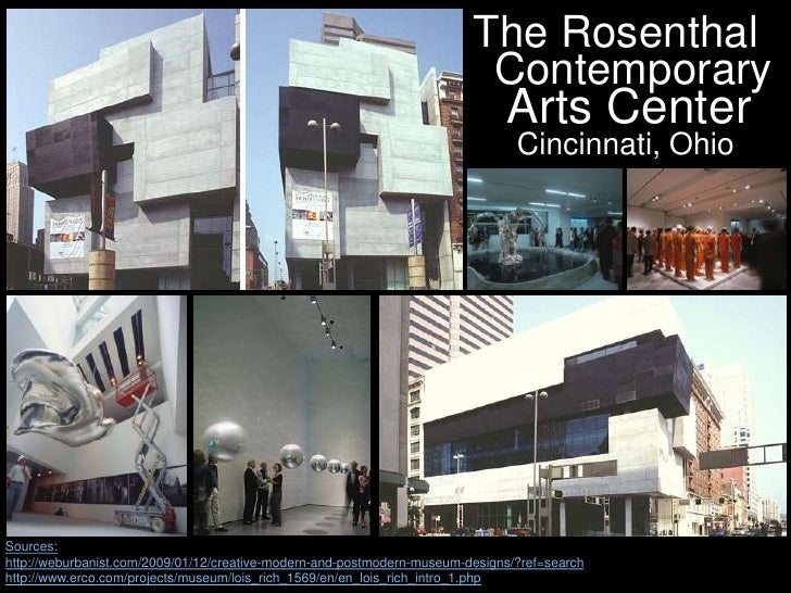 Modern And Postmodern Art Museum