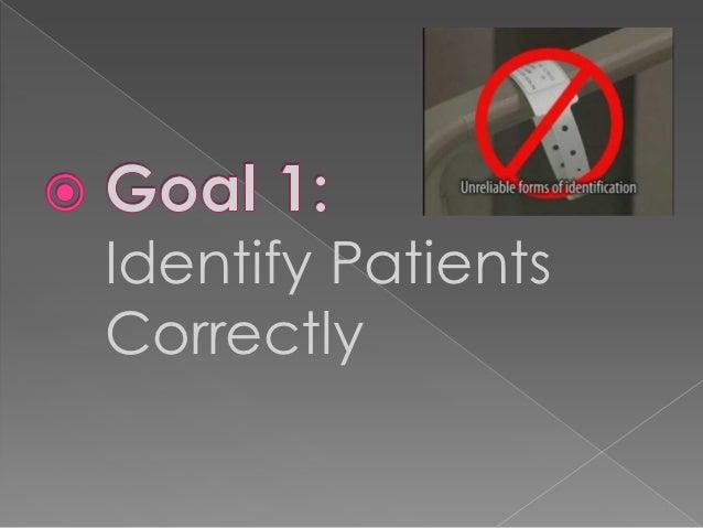 Identify PatientsCorrectly