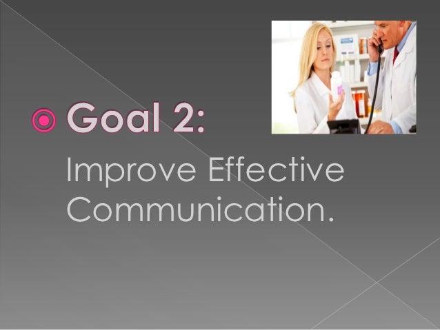 Improve EffectiveCommunication.