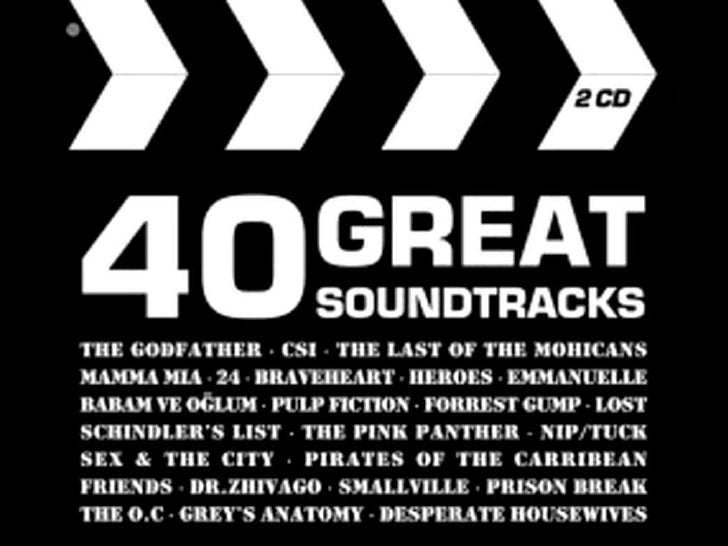 40 great soundtrack cinema and tv series