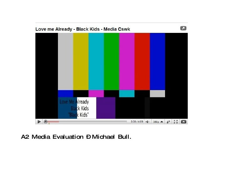 A2 Media Evaluation – Michael Bull.