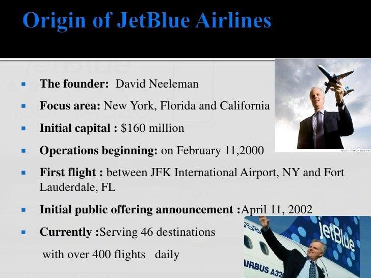 JetBlue's Distinctive Competencies