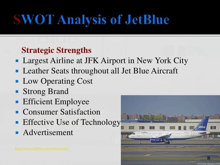 JetBlue Airways SWOT Analysis, Competitors & USP