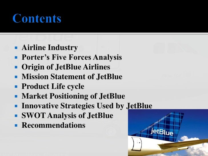 executive summary jet blue airlines Journal of aviation management and education jetblue, page 1 jetblue airways, trouble in the sky michael brizek south carolina state university.