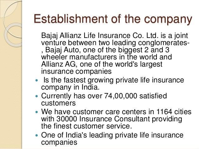 questionnaire on customer satisfaction towards bajaj allianz life insurance