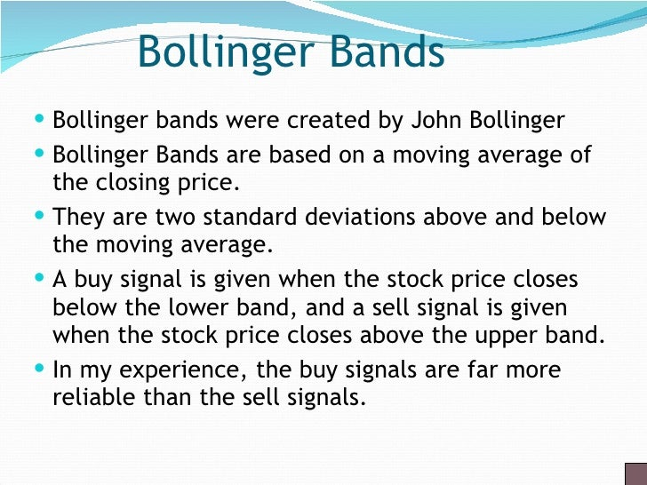 Bollinger bands ppt