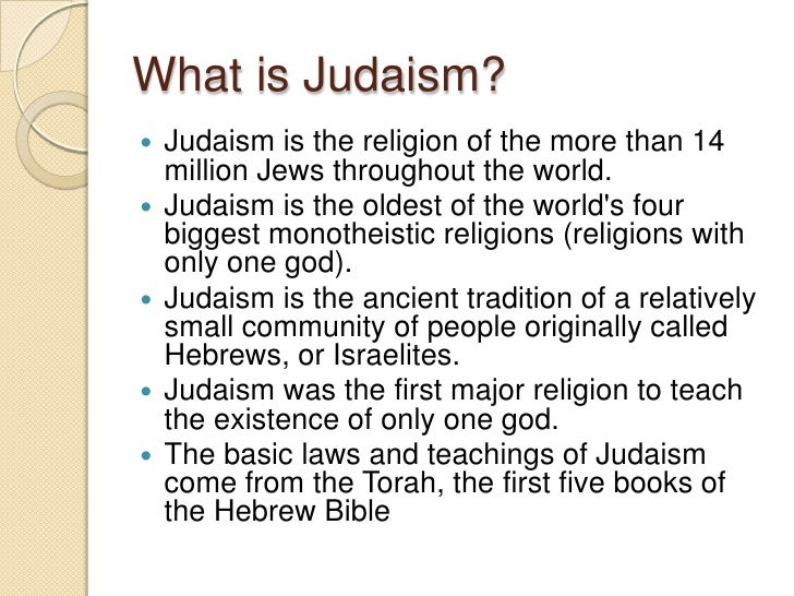 the importance of jewish history in judaism Of the many observances and practices of judaism, the jewish sabbath or jewish shabbat (in hebrew) a history of jewish sabbath traditions.