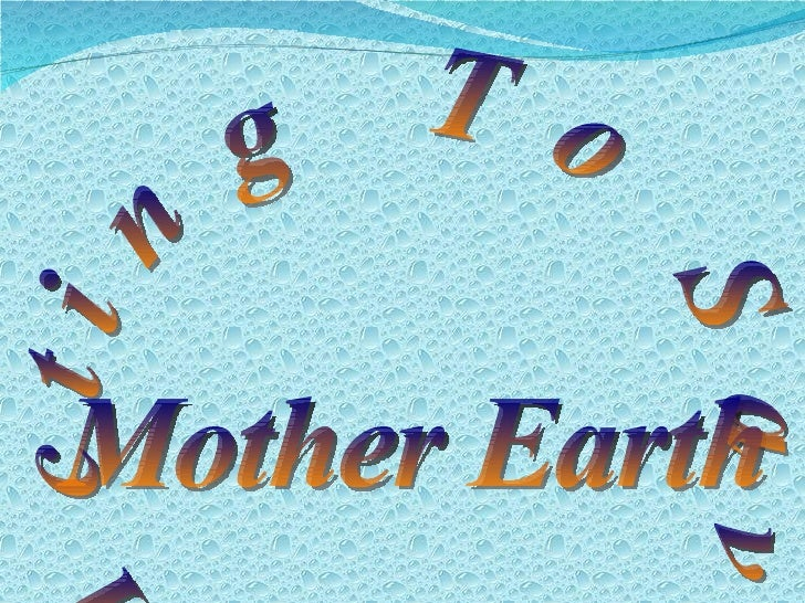 acting to save mother earth How you can help save the planet  at mother earth news, we are dedicated to conserving our planet's natural resources while helping you conserve your financial resources you'll find tips for .