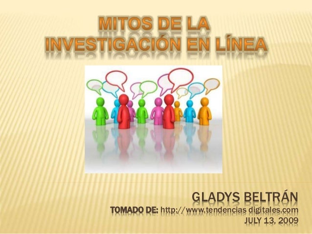 GLADYS BELTRÁN TOMADO DE: http://www.tendencias digitales.com JULY 13, 2009
