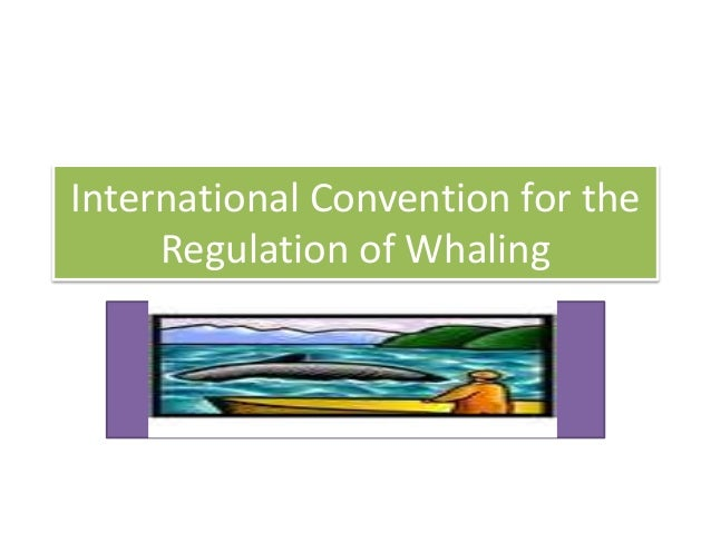 International Convention for the Regulation of Whaling