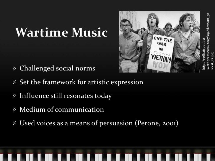 influence drugs and music 1960 s Get an answer for 'how did the vietnam war influence the social structure and lifestyles from  the social structure and lifestyles from  1960's.