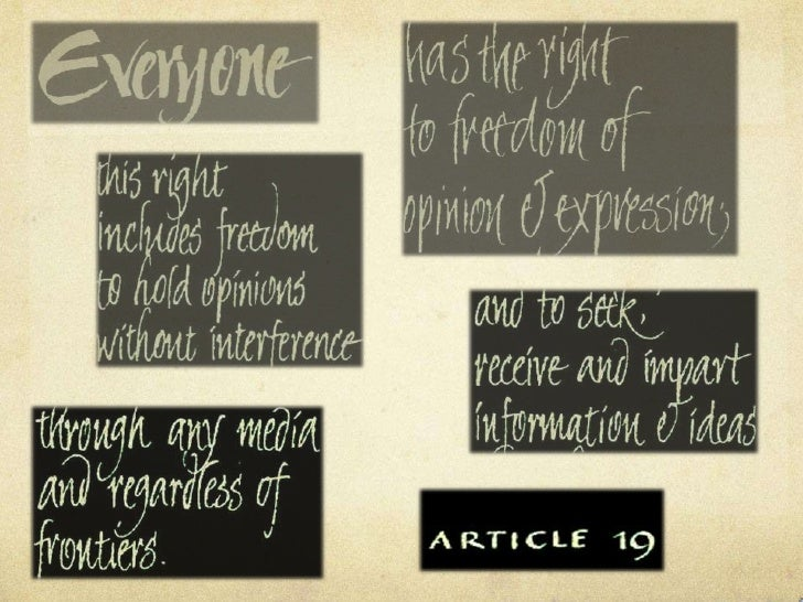 an insight to the meaning of censorship and freedom of expression Why is internet censorship bad a: the cons of internet censorship include limiting the freedom of speech what is the meaning of the term internet q.