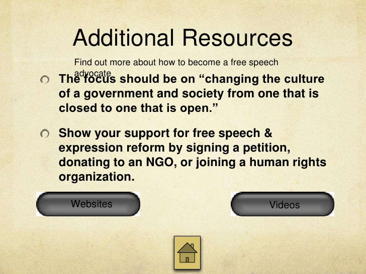 Websites cont.Freedom Houseis an independent NGO that supports theexpansion of freedom worldwide. It has assessed thedegre...