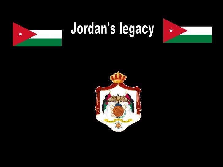 Jordan's legacy