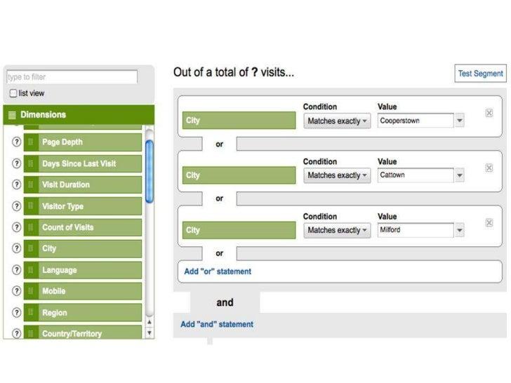 Google Analytics Screen Shot