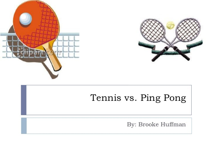 Tennis vs ping pong - Butterfly table tennis official website ...