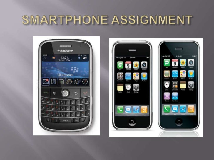 SMARTPHONE ASSIGNMENT<br />