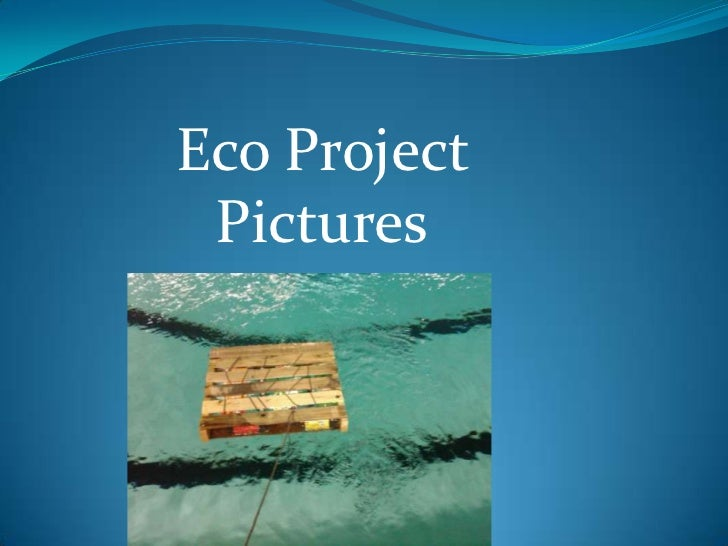 Eco Project Pictures<br />