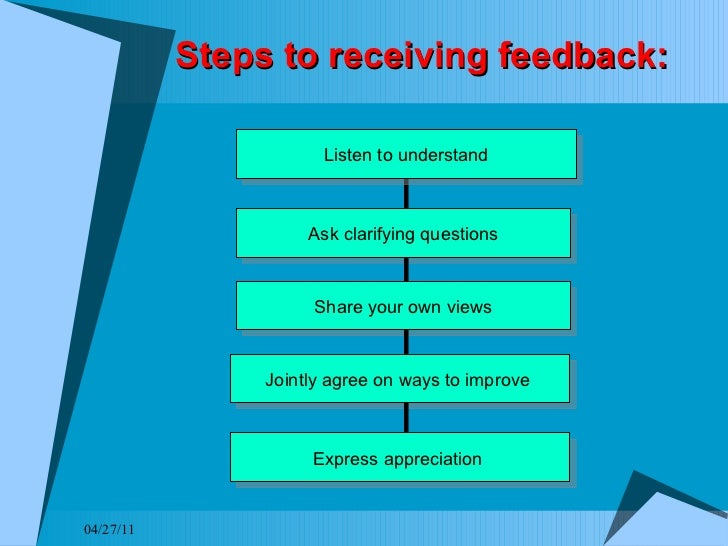 How to Take Feedback | Psychology Today