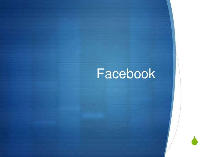 Facebook<br />