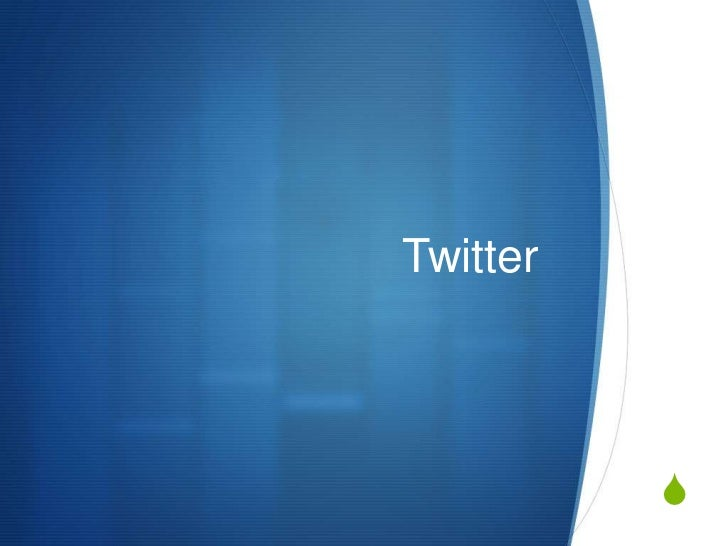 Twitter<br />