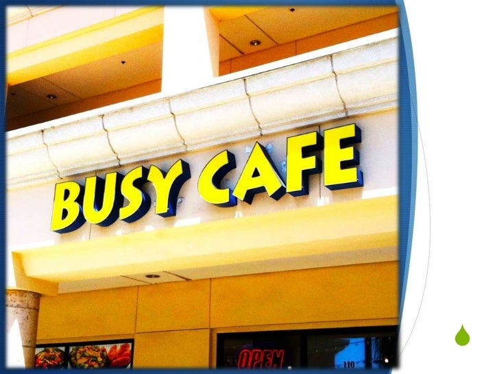 BUSY CAFE<br />