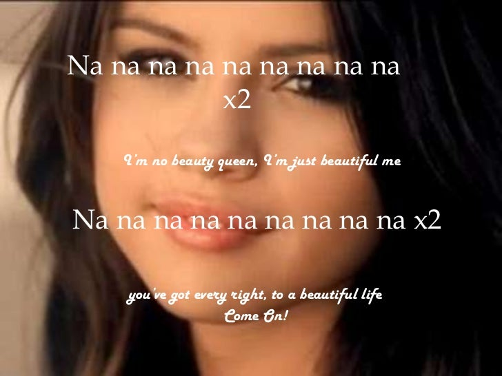 Who Says You Re Not Perfect Lyrics