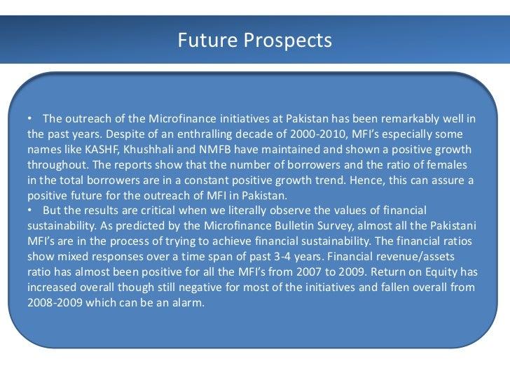 thesis microfinance in pakistan Förnamn efternamn microfinance and woman empowerment kristina shakya degree thesis international business 2016.