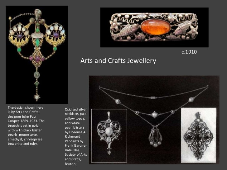 Arts And Crafts Movement Slideshare