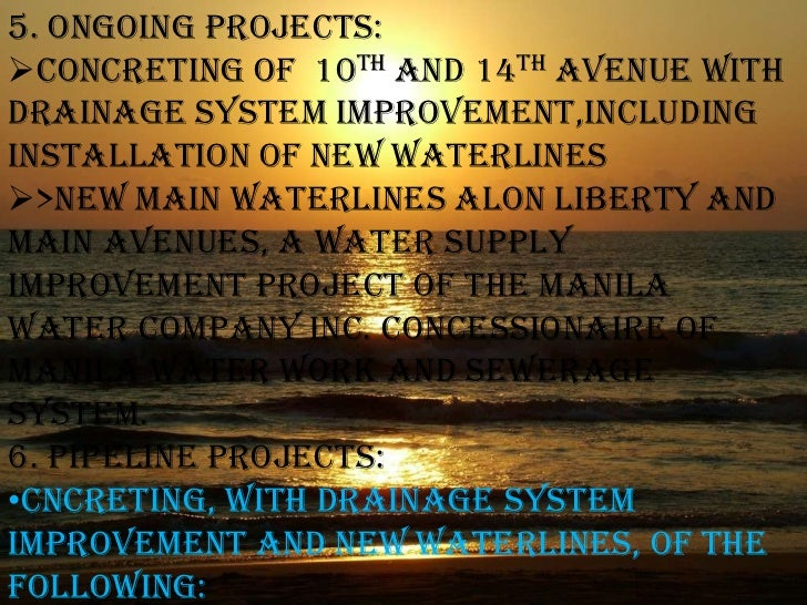 What are the visions for barangay?