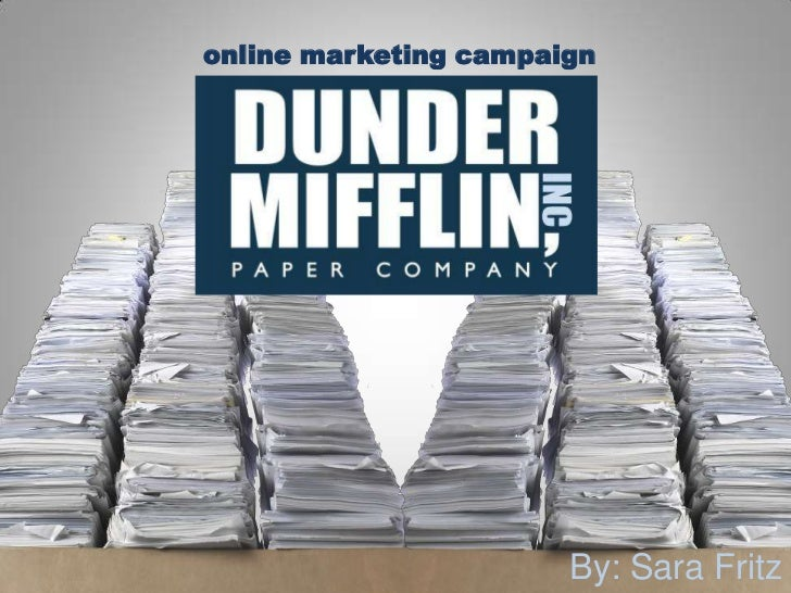 online marketing campaign<br />By: Sara Fritz<br />