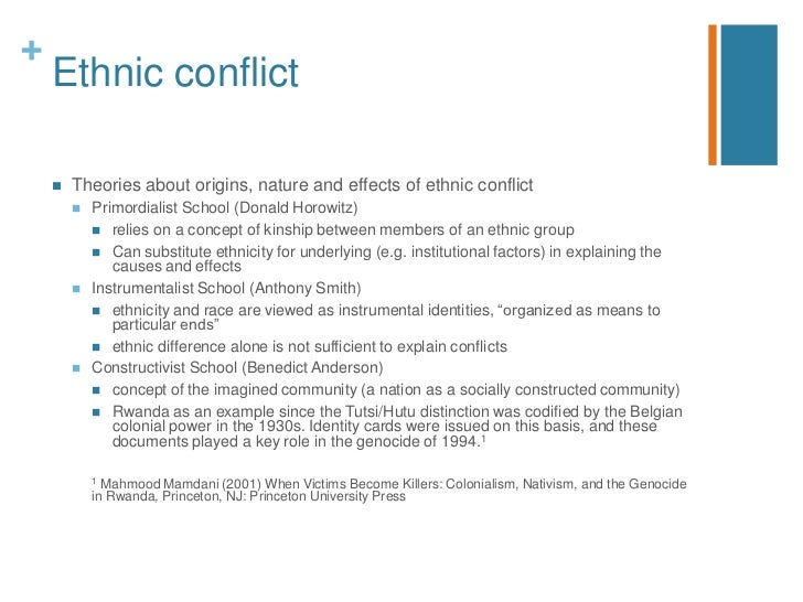 Ethnic Conflict And Its Threats To Democracy