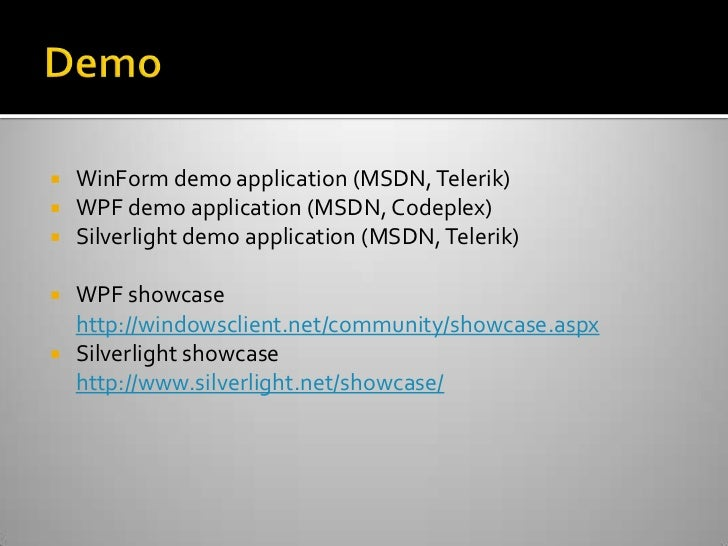 NET Event - Migrating WinForm