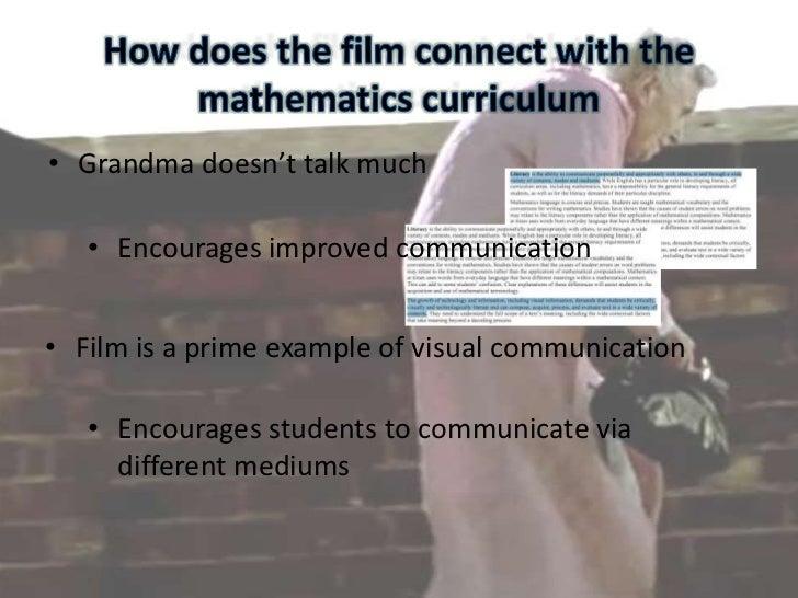 Students will become engaged</li></li></ul><li>Applications for the film in a mathematics teaching context<br />Teachers: ...