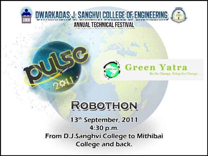 ROBOTHON in association with Green Yatra