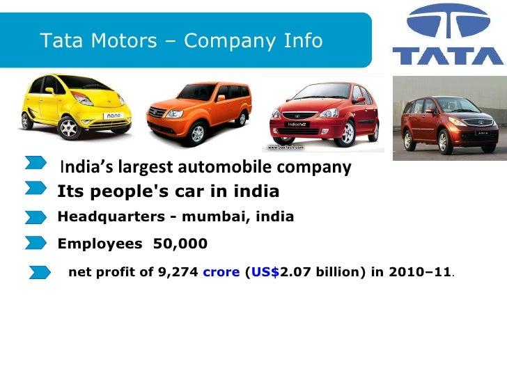 Tata Motors Dealership Franchise: Cost, Profit and ROI