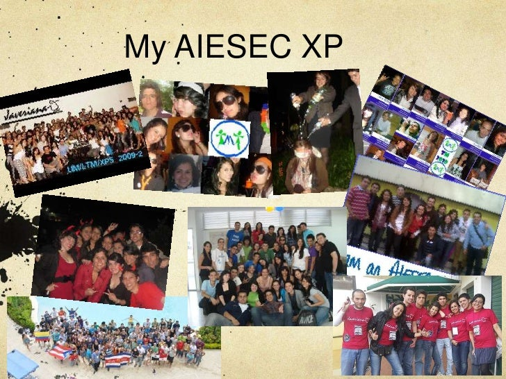 My AIESEC XP<br />