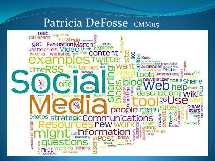 Patricia DeFosseCMM115<br />