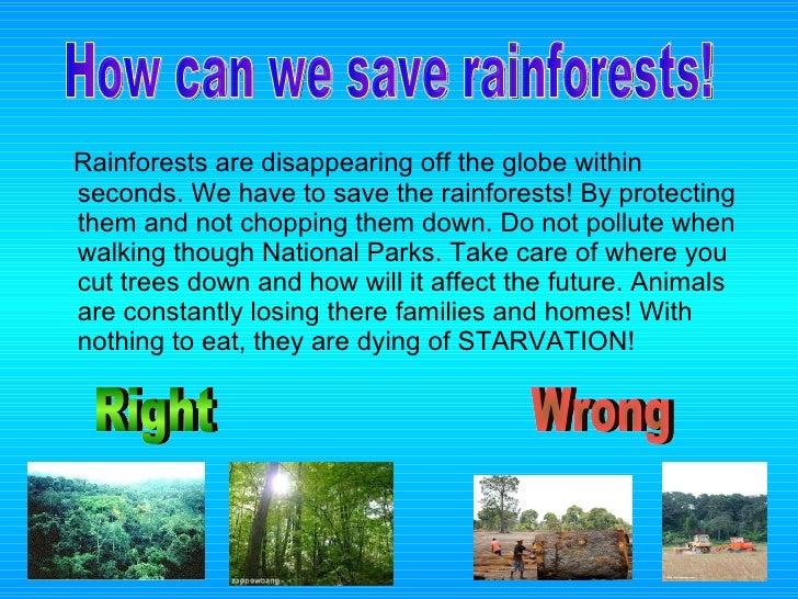 Presentation on save trees