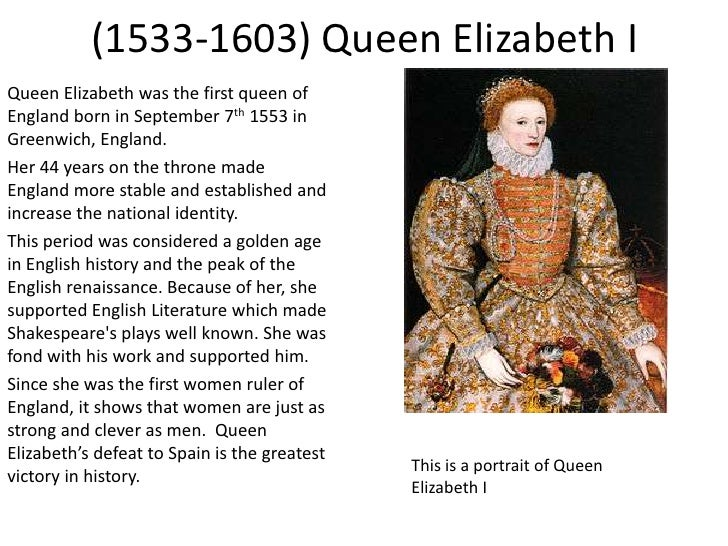 Elizabeth I: Troubled child to beloved Queen