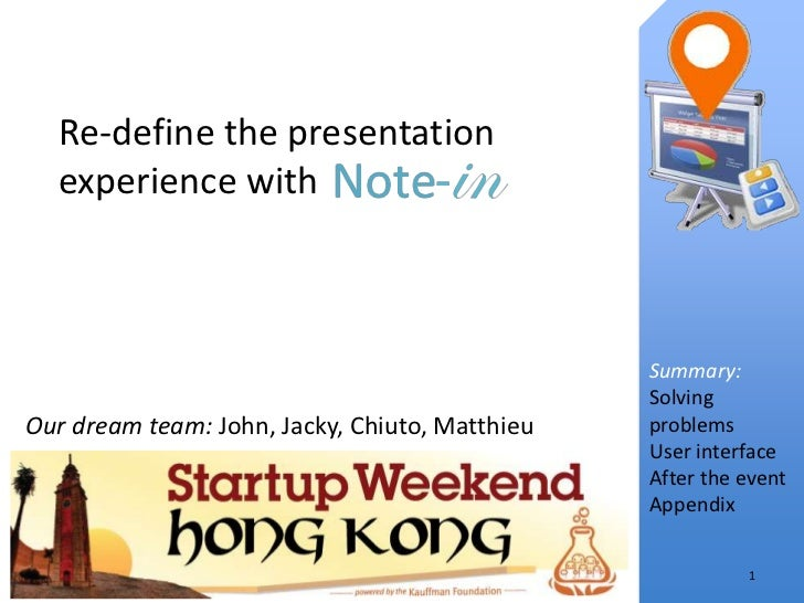 Re-define the presentation  experience with                                                Summary:                       ...