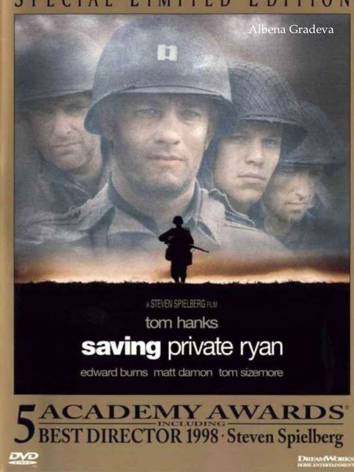 essay on saving private ryan In analyzing steven spielberg's movie saving private ryan, i realized that i can not base a movie only on realism a good movie has to have some kind of character or.