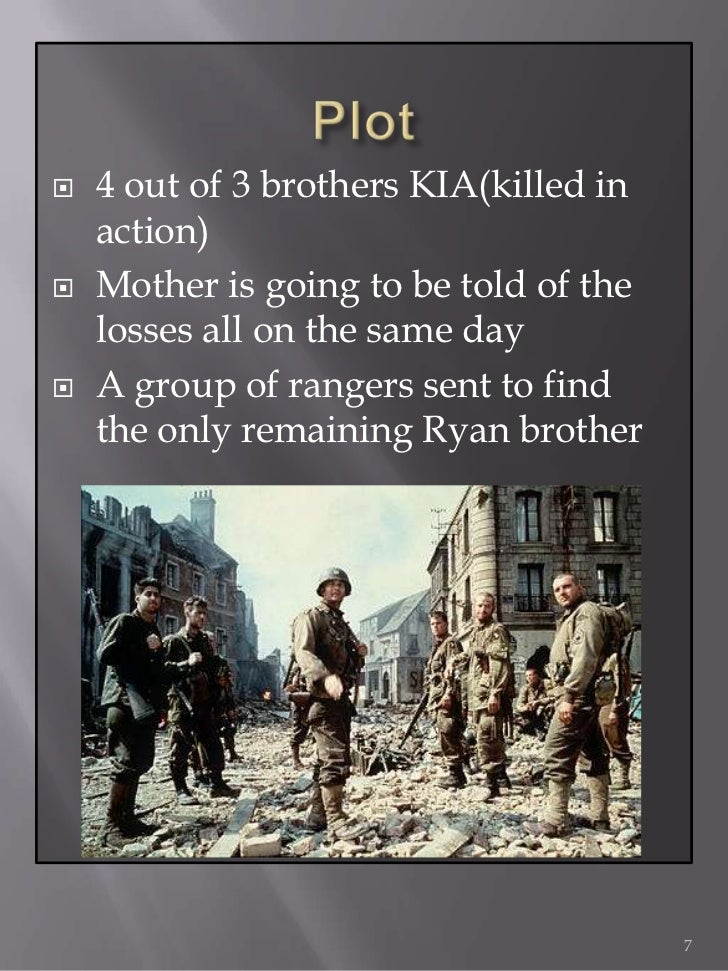 an analysis of the saving private ryan Popular videos - saving private ryan  saving private ryan official trailer  saving private ryan film analysis - part 2.